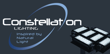 Constellation lighting banner