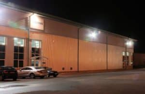 New LEDs have been installed at many Hermes depots