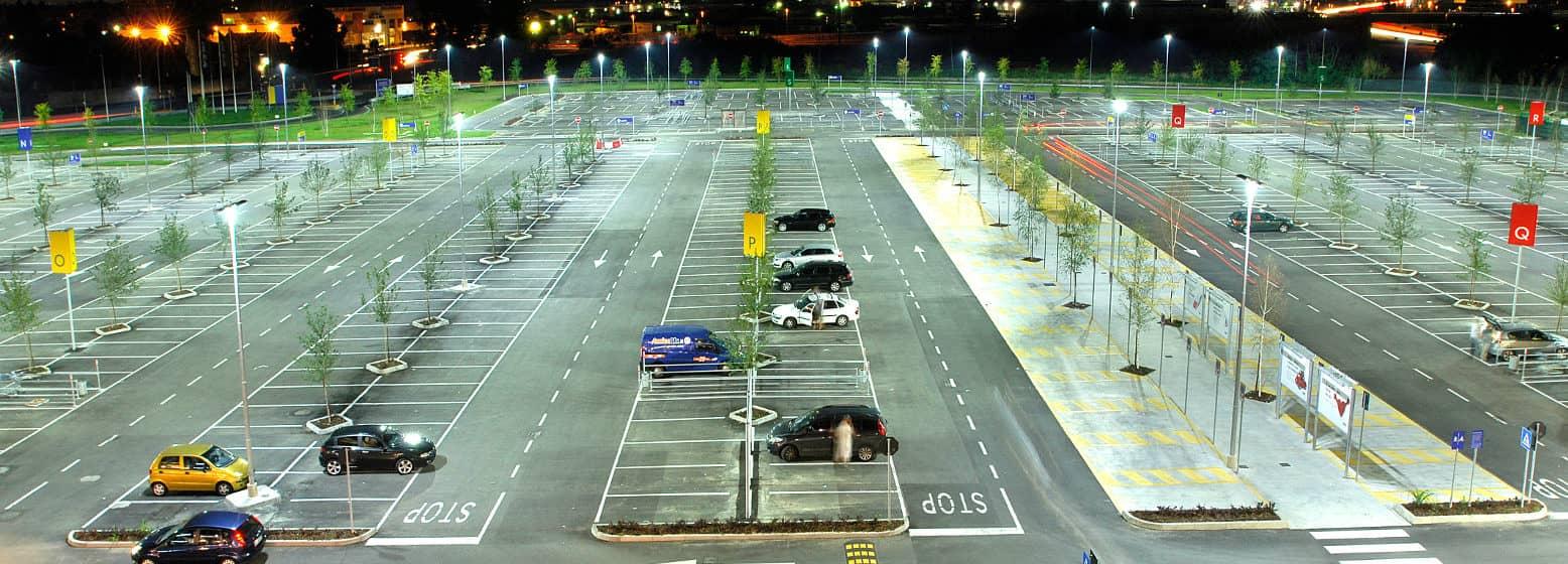 Ikea car park